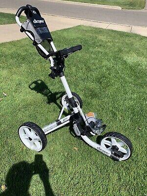 BRAND NEW Clicgear Model 4.0 Golf Push/Pull Cart White