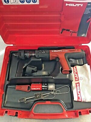 Hilti Dx 351 Automatic Powder-actuated Tool Wcase - Great Condition