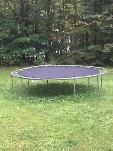 Free well used trampoline