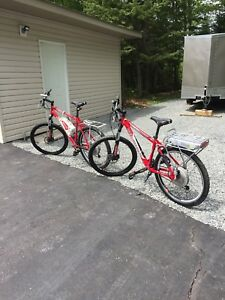 BIONX electric assist bicycle X 2