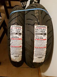 New bridgestone  BT-023 motorcycle tyres Salisbury East Salisbury Area Preview