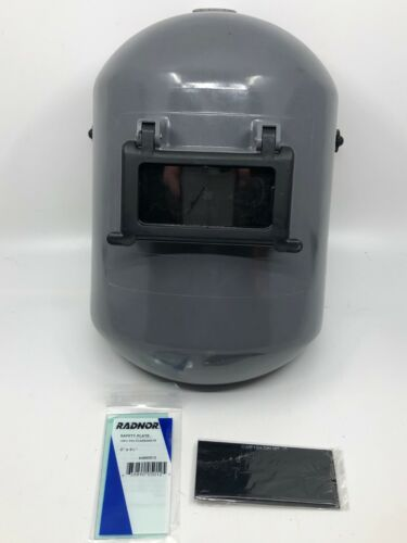 Honeywell Fibre-Metal® 706Y Gray Welding Helmet W/ Shade10 PLUS Xtra Lens