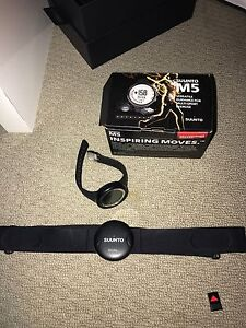 Suunto m5 heart rate monitor watch East Maitland Maitland Area Preview