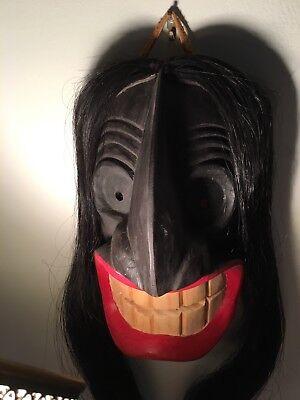 Native American Iroquois False Face Mask