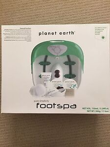 Planet Earth - Pure Simplicity Foot Spa  (BRAND NEW) West Pennant Hills The Hills District Preview