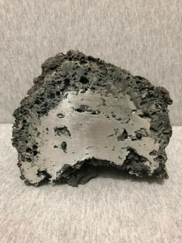 ANDVARI Dark Iron Bloom Half A, Bloom Iron, Viking Iron, Smelted Iron