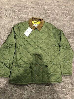 New Barbour Starling Quilt Jacket Mens XL Moss