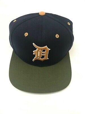Detroit Tigers MLB Baseball Cap Hat Snapback Alternate Gold Logo (Alternate Mlb Baseball Cap)