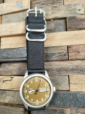 Minuteman A11 American Field Watch Brown Dial Powered by Ameriquartz