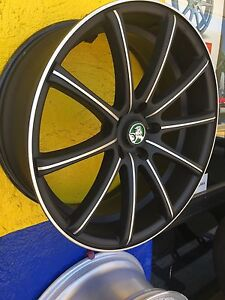 20x8.5 ignition wheel plus new tyres Redland Bay Redland Area Preview
