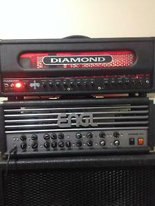 Diamond Heretic 100w head w/ footswitch - As New Condition Forrestdale Armadale Area Preview
