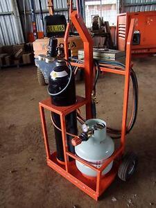 Custom made oxy cutting trolley Propane Gas Acetylene LPG Uralla Uralla Area Preview