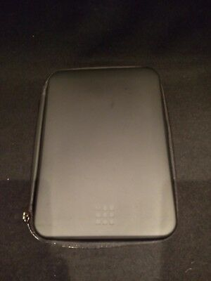 "Moleskine Journey Hard Pouch/Case - Tablet -Black 9-10"""