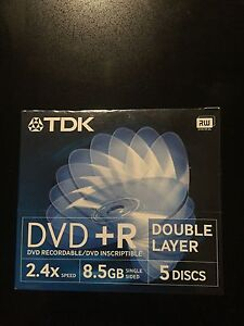DVD recordable( double layer)RW Calamvale Brisbane South West Preview