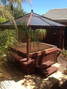 6 person Spa with attached gazebo Adelaide CBD Adelaide City Preview