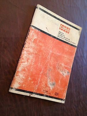 Case 580sk 580 Ck Series B Turbo Backhoe Loader King Operators Manual