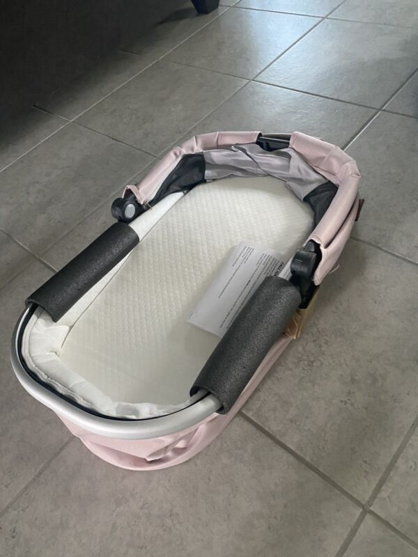 pink uppababy bassinet new