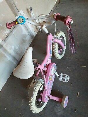 Kid Cool Bike Girls Mickey Mouse Bell Princess Pink Bicycle Toy Pedal Push Froze