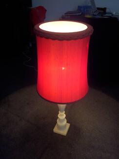 Alabaster Lamp ($20)