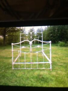 Old white metal Bed Frame!