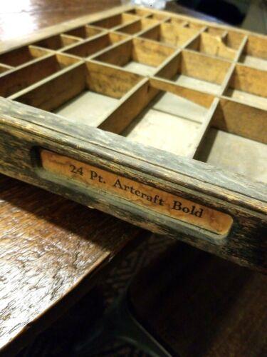 Antique Wood Printer