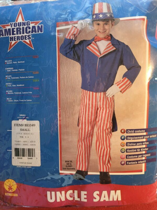 Rubies Uncle Sam Size 3-4 Years