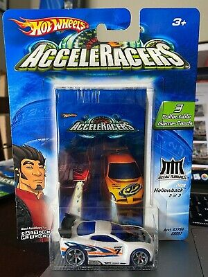 2005 Hot Wheels Cartoon Network Acceleracers Power Rage ERROR RARE!