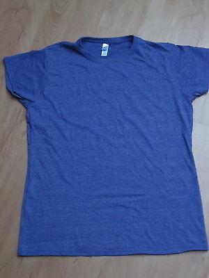 LILA T-Shirt XL 42 meliert NEU Für Minion Kostüm ()