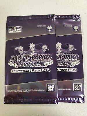 Naruto Boruto Next Generation Card Game  TOURNAMENT PACK 2 Contains 1 Promo Foil comprar usado  Enviando para Brazil