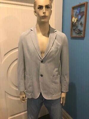 Circolo 1901 Men's Jacket Grey Size 54 L/XL