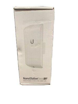 UbiQuiTi NanoStation LOCO M2 US N150 2.4 GHz Indoor/Outdoor AirMAX CPE comprar usado  Enviando para Brazil
