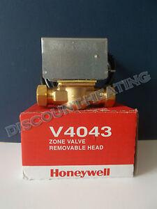 Honeywell Motorised  2 Port Zone Valve 22mm Part number V4043H1056