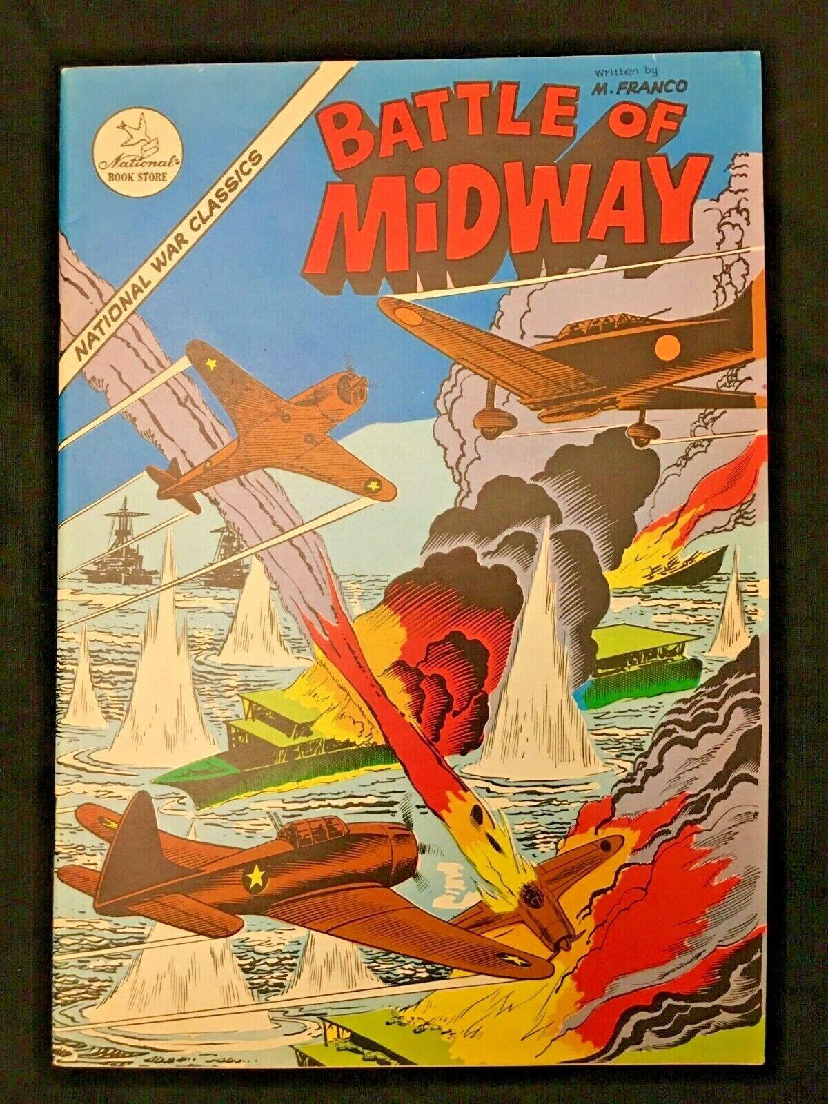 Battle Of Midway FILIPINO Comic VF/NM 9.0 Philippines M. Franco 1975 War - $0.99