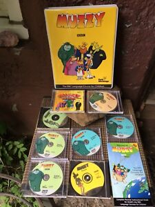 BBC MUZZY Children Early Advantage Language Learning DVD/CD's