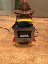Phineas and FerbDisney Alarm Clock Radio PerryThe Platypus Unique Alarm Rocket
