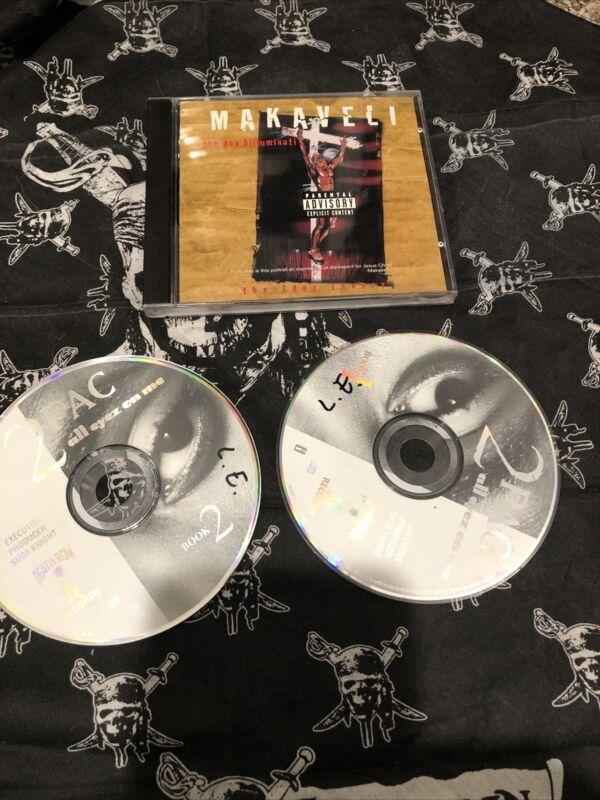 Makaveli  Cd Tupac Death Row Records