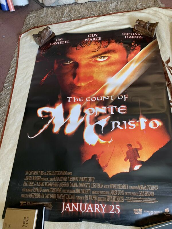 The Count of Monte Cristo - Movie Theater 70x48 Huge Theater Display P99