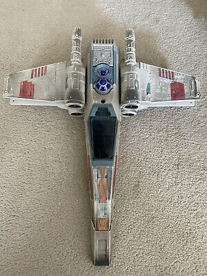 VINTAGE STAR WARS X-WING FIGHTER SHIP TONKA CORP SOUNDS WORKING