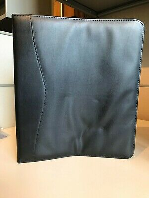 Royce Leather 2 Inch D-ring Binder Black 300-8