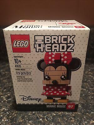 LEGO 41625 Brickheadz Disney Minnie Mouse New Sealed Retired
