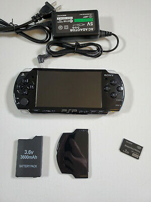 SONY PSP 2000 2001 Playstation Portable; TESTED; NEW BATTERY; GOOD CONDITION