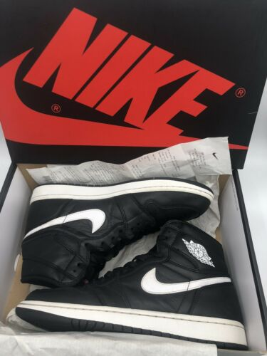 Nike Air Jordan 1 Retro High Size 10 Ying Yang Black/ White