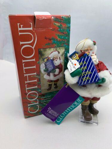 Clothtique Santa Possible Dreams Special Son 715073 Original Box w/ All Tags