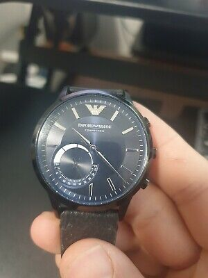 Emporio Armani Connected Smart Watch Hybrid Bluetooth iPhone Android ART3004