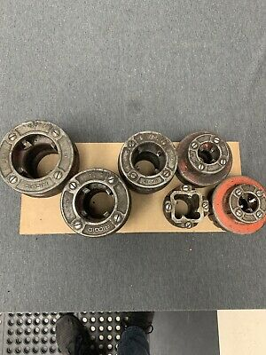 Ridgid Die Set 12 34 1 114 112 2 Die Usa Made Used