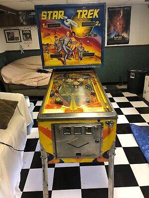 Vintage Used Star Trek 1978 Bally Pinball Machine Game 1148-E