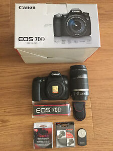 Canon 70D with 55-250mm F4-5.6 and more