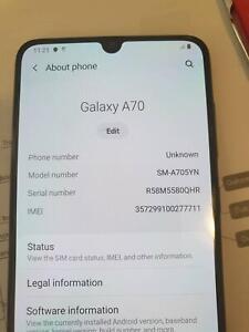 Samsung A70 Phone