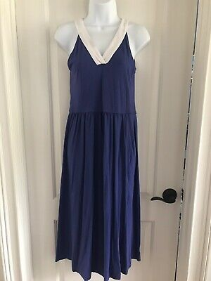 Winter Weekend Dresses (Andrea Jovine Weekend Dress Size S - Purple with white - Soft &)