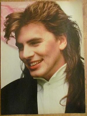 Duran Duran, John Taylor, Jason Bateman, Double Full Page Vintage Pinup